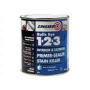 Zinsser 123 Bulls Eye Primer / Sealer Paint 500ml