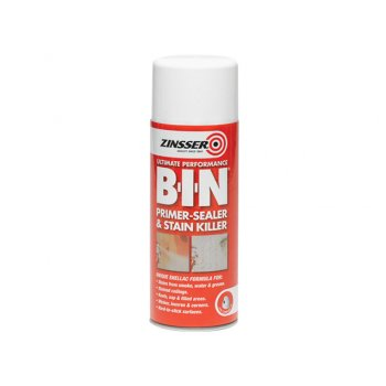 Zinsser B.I.N Primer / Sealer Stain Killer Aerosol 400ml