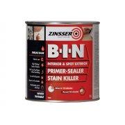 Zinsser B.I.N Primer / Sealer Stain Killer Paint 1 Litre
