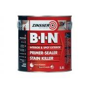Zinsser B.I.N Primer / Sealer Stain Killer Paint 2.5 Litre