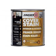 Zinsser Cover Stain Primer / Finish Paint 1 Litre